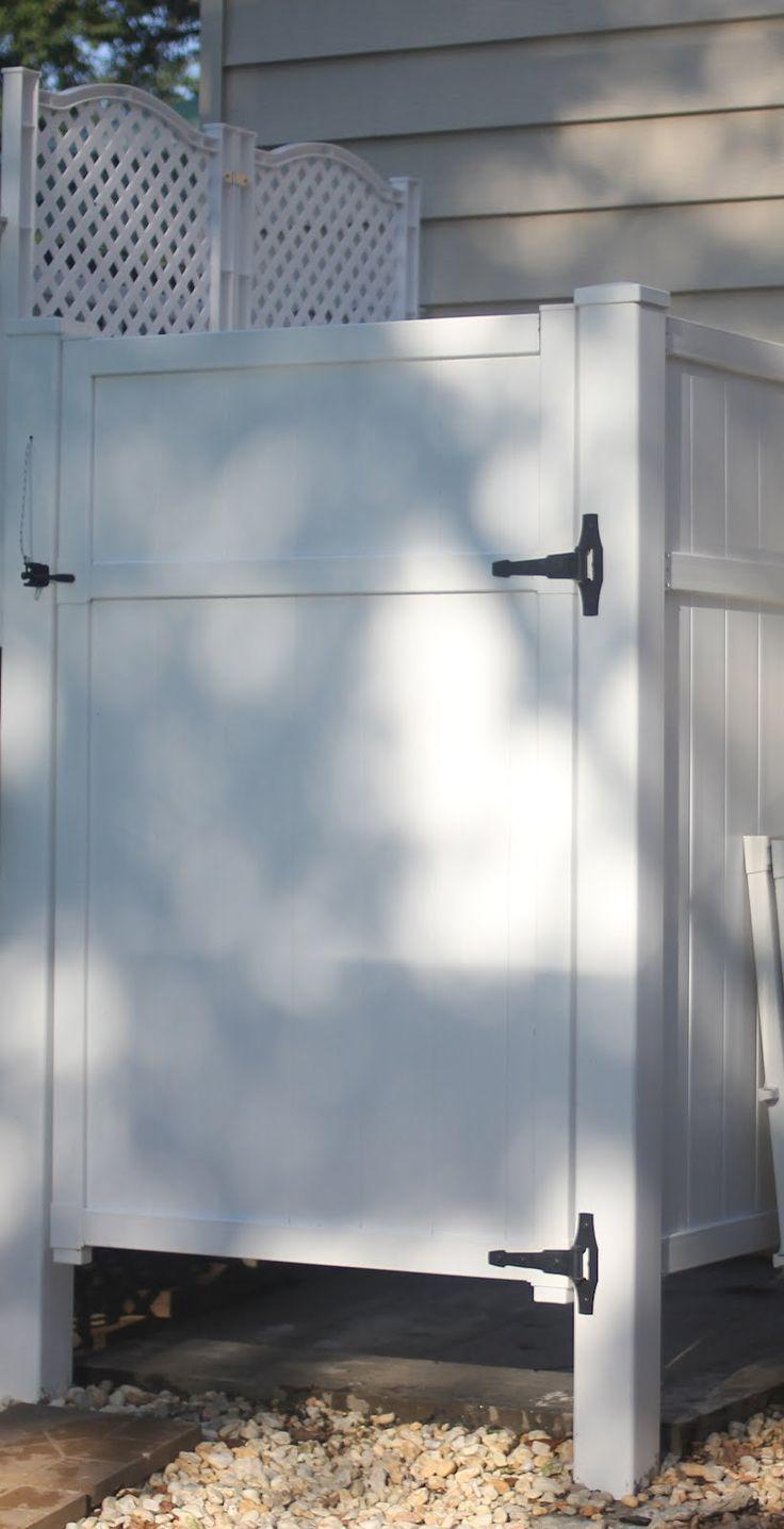 111 best outdoor shower ideas images on pinterest. Black Bedroom Furniture Sets. Home Design Ideas