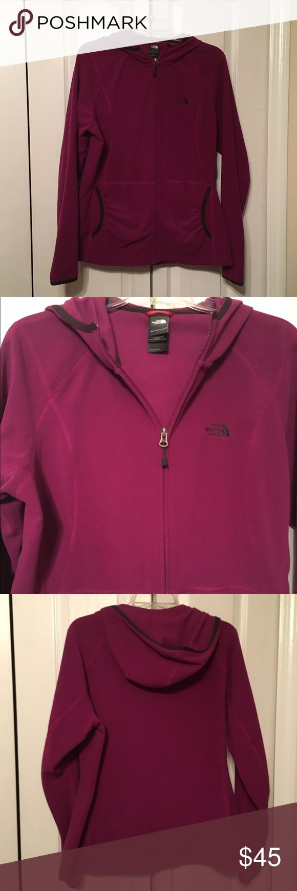 North Face Ladies Jacket with Hood Size XL Worn Once Ladies North Face Jacket North Face Jackets & Coats