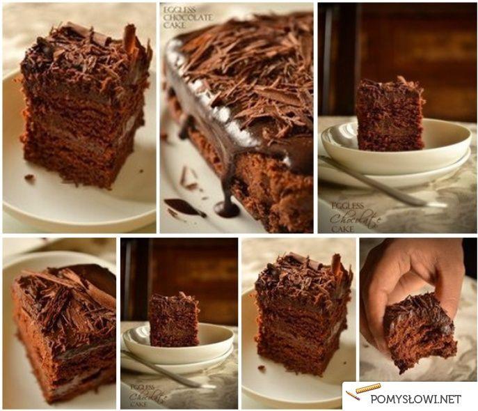 Ciasto czekoladowe - pychotka - Pomyslowi.net