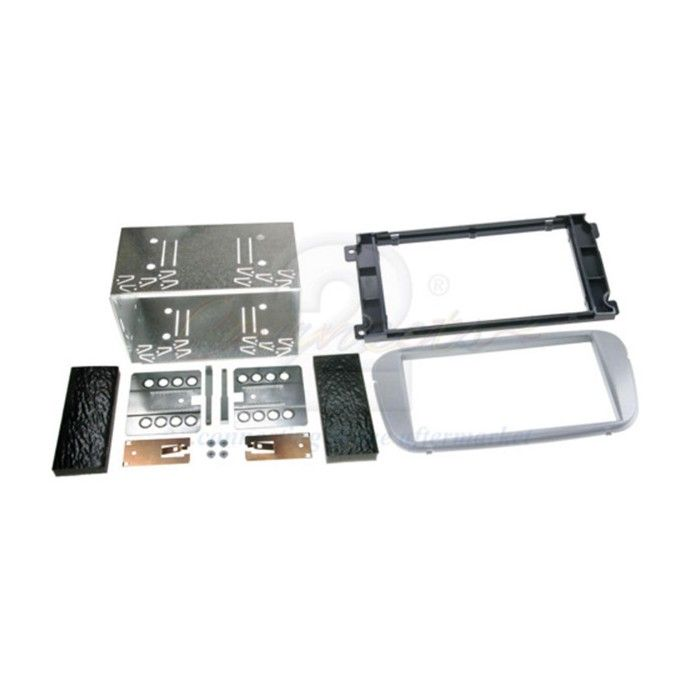 Connects2 CT23FD09 Ford Double Din fitting Kit (silver)  - Car Audio Centre