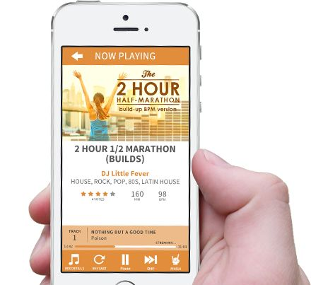 Rock My Run: The ultimate app for creating playlists just for your runs or workouts. It's amazing!