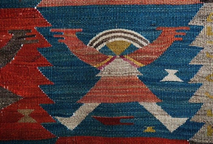 Eleonora Plutyńska, Little People, kilim, made by the Ład Artists' Cooperative, 1926 Collections of the Central Textiles Museum in Łódź, Photo: Michał Korta - photo 3