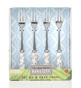 Great British Bake Off Cake Forks Marks Spencer By