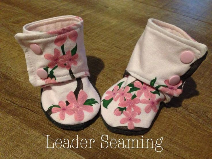 Kimmy Snabric Cherry Blossoms- Maggie's Stay on booties review
