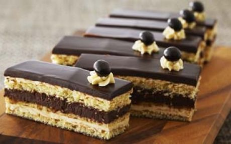 Opera Torte by Anna Olson (Chocolate) @FoodNetwork_UK
