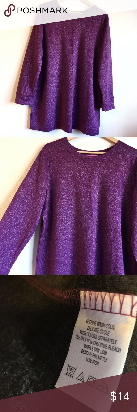 Lurex pullover Worn once in great condit…