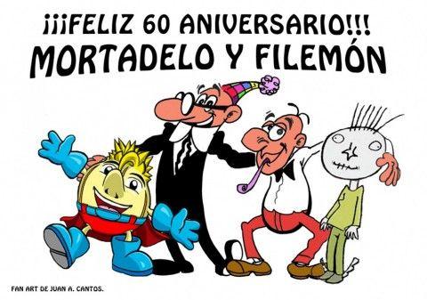El equipo de ComicSquare desea un feliz 60 aniversario a los dos personajes posiblmenete más célebres del cómic español: Mortadelo y Filemón, creados por el gran dibujante Francisco Ibáñez.¡El tiempo os ha tratado bien! ¡Enhorabuena, chicos, y enhorabuena a su simpático e inovlidable creador! Un fuerte abrazo.