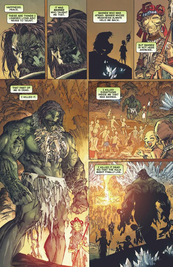 INCREDIBLE HULK #1 Preview 1