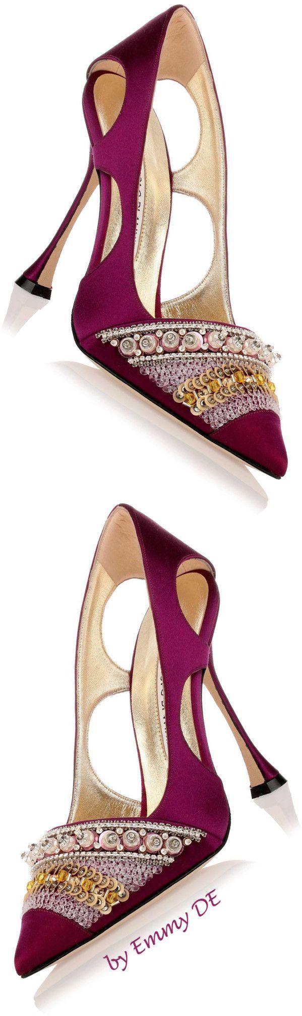 Emmy DE * Manolo Blahnik 'Ravani' AW 2015  |  @  shoes 1