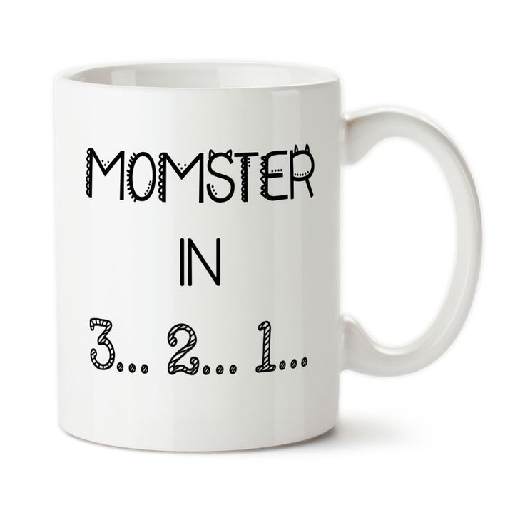 Momster 001, Don't Make Me Count To Three, Parenting Mug, Funny Mug, Humorous Cup, 15oz Coffee Cup, Typography, Ceramic, Tea Cup,