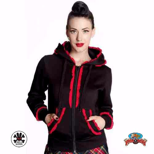 """Bear Hooded Jumper in Red by Hell Bunny A modern and flashy red riding hood look.   #Red #AutumnFashionforWomen #AutumnFashionIdeas #AutumnFahion #BearHoodedJumper #HellBunny #RuffnReadyAus  """""""