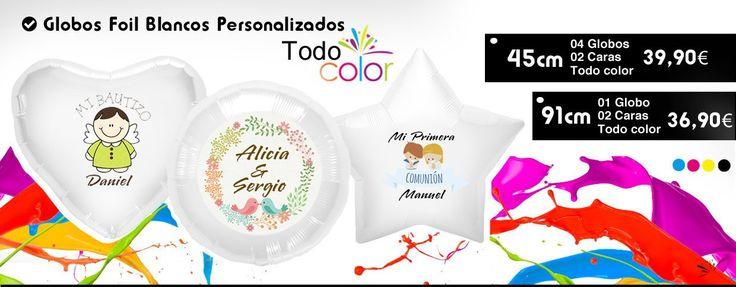 Comprar Globos de Helio, Helio para Globos, Servicio de Decoración con Globos, Globos Personalizados Publicitarios y Productos para Fiestas y Eventos.