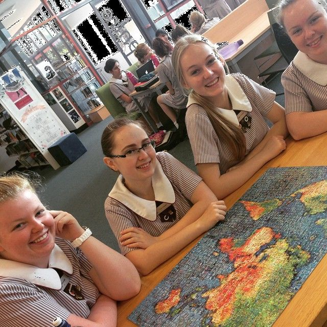 The puzzle is finished! Ladies you should be proud, you've fought the good fight and won! It was a tough puzzle but you made it through. #iCentre #puzzles #jigsaw #relax #goodtimes #MtA