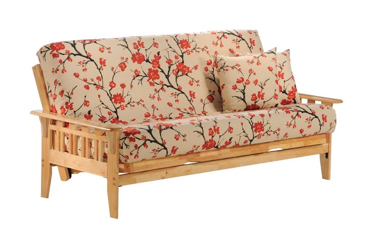 Kingston Queen Futon Frame in natural finish