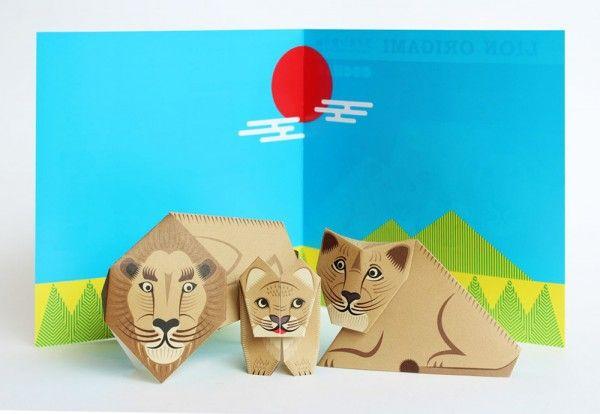 2014.04.08 三越LION折り紙 三越オリジナル折り紙を作りました。 三越日本橋店、三越銀座店のベビー・キッズフロアにて限定販売しています。 ライオンの親子ができます。 3種各3枚、計9枚入+背景シート、折り図  |500円(税別)|