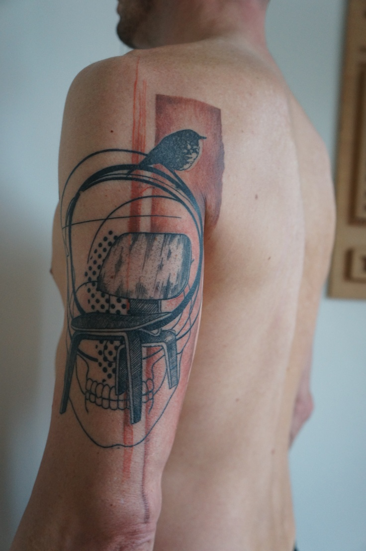 box jellyfish tattoo. Black Bedroom Furniture Sets. Home Design Ideas