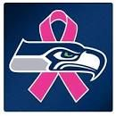 Seahawks NFL football team has associated itself with breast cancer awareness that is emptying the shelves at your local retailer stores and also online. They are even showing this off on the field with their pink shoes and gloves. Making it manly to wear pink and supporting a good cause for breast cancer awareness. -Brionna J