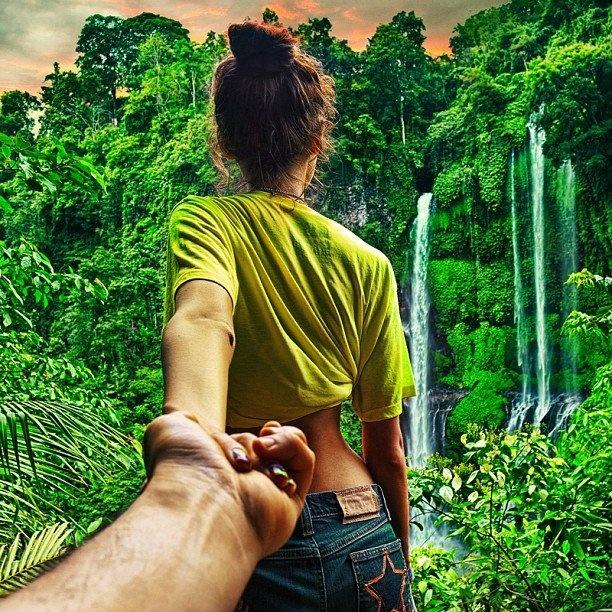 you even accompanied me to the jungle...I love U babe...