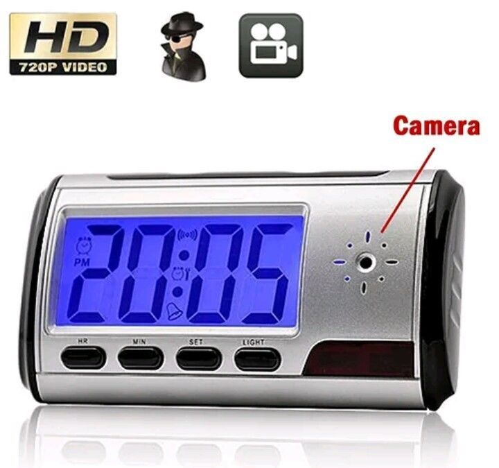 Spy camera clock video surveillance DVR nanny cam remote camcorder gadget new #UnbrandedGeneric