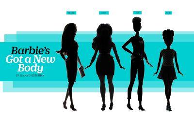 Το νέο σώμα της Barbie - Η ΔΙΑΔΡΟΜΗ ®