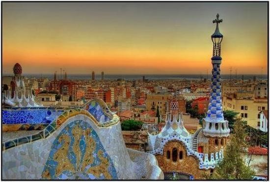 Viva Barcelona!  Parc Guell