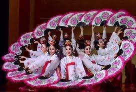 korean fan dance
