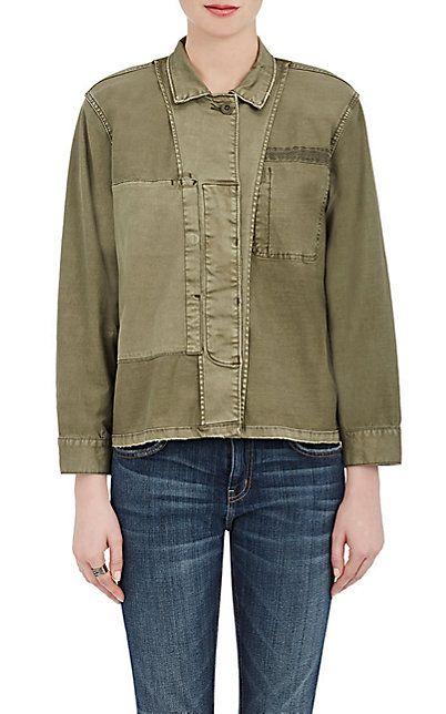 Current/Elliott Military Shirt Jacket - Jackets - 504982849