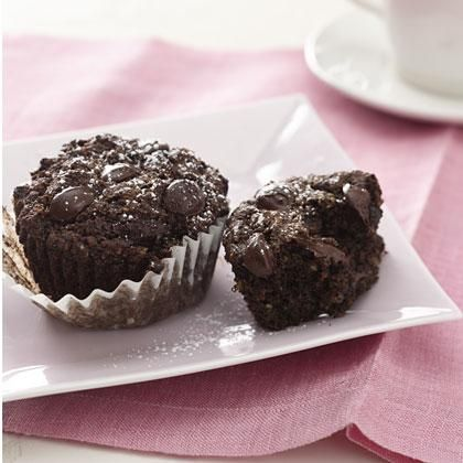 Fudge Chip Muffins Gluten Free Breakfast