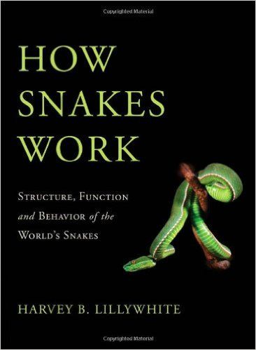 How Snakes Work: Structure, Function and Behavior of the World's Snakes: Harvey B. Lillywhite: 9780195380378: Amazon.com: Books