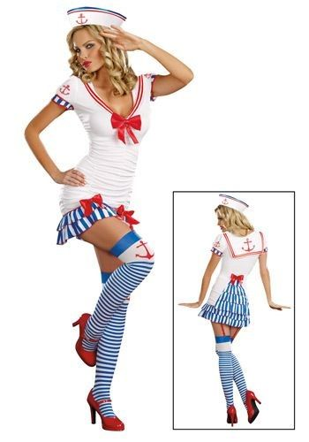 Sailor Pin Up Costume.... If only I wouldn't be nearly in my third trimester..
