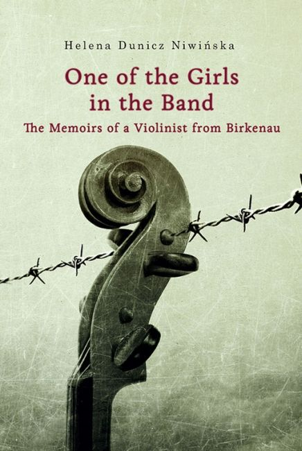 """""""One of the Girls in the Band"""" is the title of the memoirs of Helena Dunicz Niwińska, a former prisoner of Auschwitz who spent two years playing in the women's orchestra in the German Nazi camp of Auschwitz II-Birkenau.   More: http://bit.ly/oneofthegirlsintheband"""