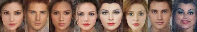 Come sarebbero i personaggi Disney nella vita reale: Meg, Hercules, Pocahontas, Biancaneve, la Regina di Cuori, Ariel, Il principe Eric, Ursula.
