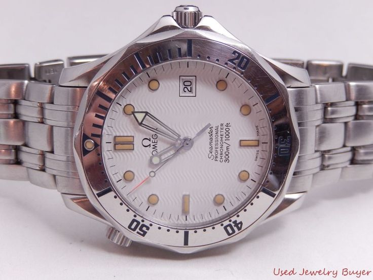 Omega Seamaster Professional White Dial Mens Watch Ref. 2532.20.00 Box Papers #Omega #Luxury