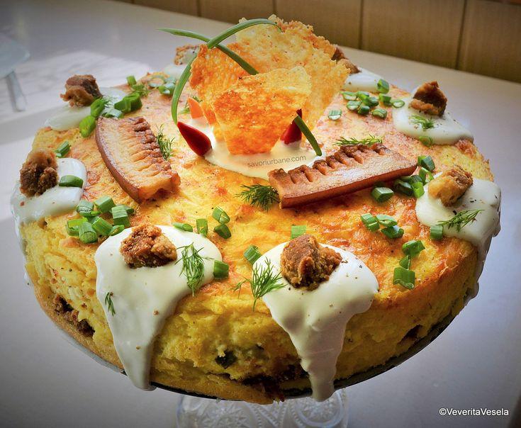 Mamaliga in straturi (paturi) reteta de tort de mamaliga savori urbane