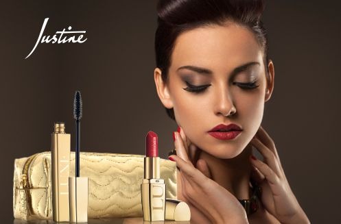Justine - cosmetics, beauty, make-up, skincare, fragrance, work from home