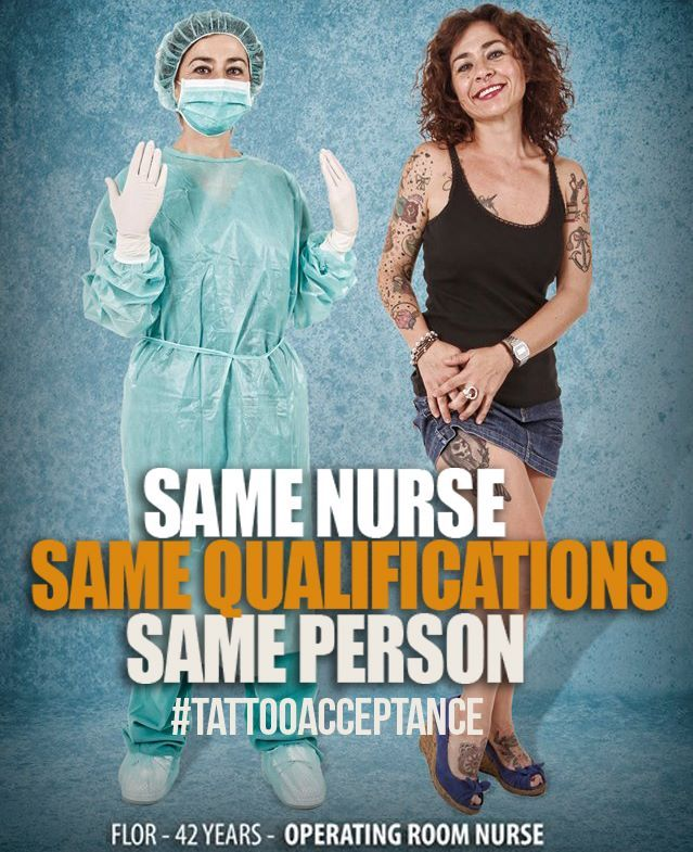 essays on tattoos in the workplace Does the first amendment support the fact of getting denied a job for having a  tattoo thesis: having a tattoo in the workplace doesn't hinder you from doing  your.