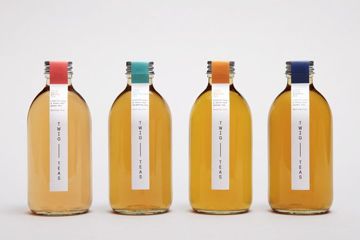 <p>Twig Teas, boasts refreshing and simple ingredients of 'Filtered water and loose-leaf tea. Nothing else.' To reflect the purity of the product, Studio Thomas has rebranded the packaging