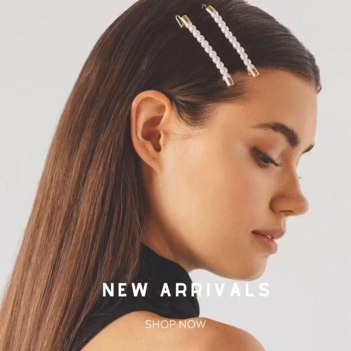 Novos Acessorios Para O Cabelo Estilo Soho Nail Effect In 2020 Hair Accessories New Hair Shoulder Length Hair