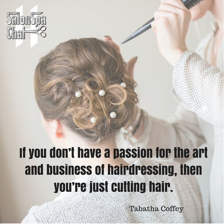 Tabatha Coffey Quote for Hairdressers