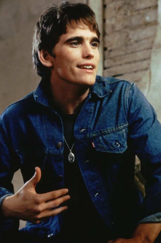 Matt Dillon in The Outsiders// Perfect in every.single.way