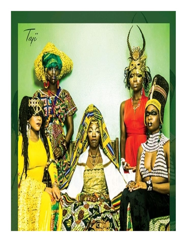 Dynamic lineage of five real African women - Queen Amina of Zaria - Nigeria, Queen Makeda of Sheba - Ethiopia, and Queens Cleopatra, Nefertiti and Goddess Isis of Egypt.