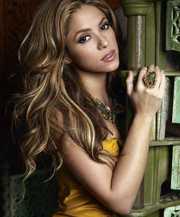 Shakira - I love everything about her; her style, her voice, her music, her moves and even her crazy wild mane. She's awesome.