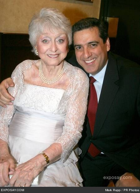 Celeste Holm and Frank Basile - Celeste Holm's 90th birthday