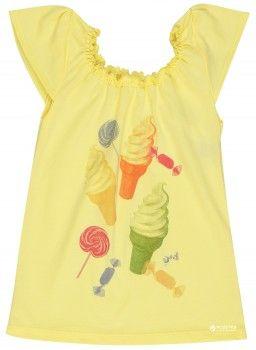 Футболка Girandola Sweet Summer 122346-9999 140 см Желтая