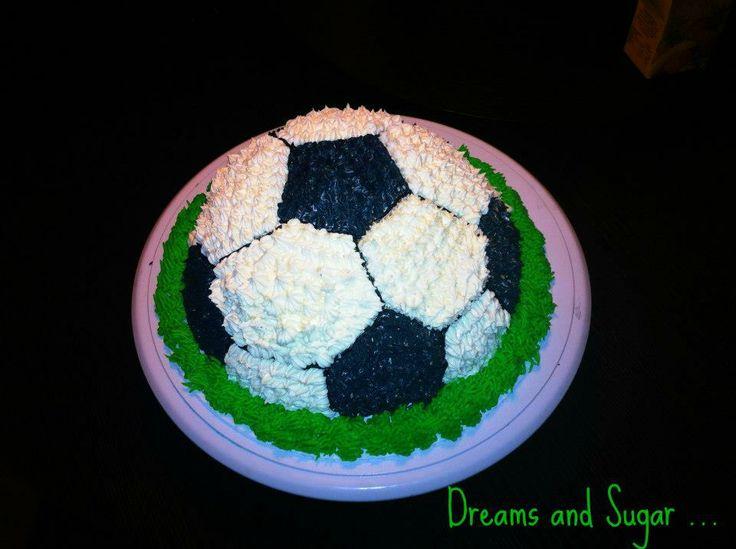 futbol cake !