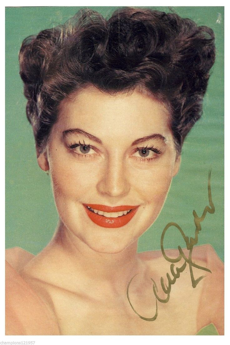 Ava Gardner ++Autogramm++ ++Hollywood Legende++2 | eBay