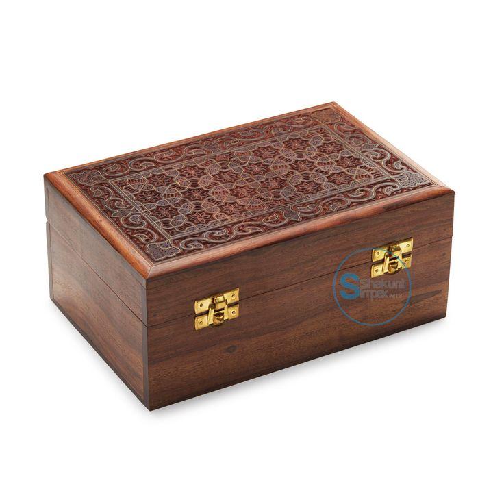 Hand carved storage box @shakuntimpex #shakuntindustrialfurniture #handcarvedfurniture #woodenfurniture
