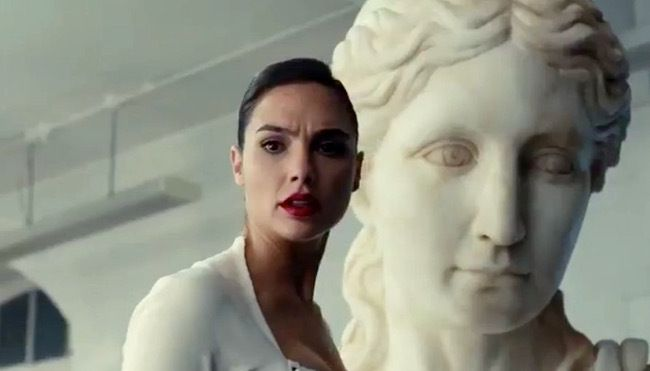 'Justice League' shows Wonder Woman in the Batcave and in battle in a new teaser.
