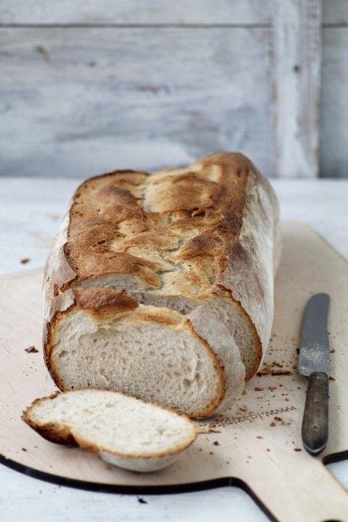 Sütőkövön sült fehér kenyér