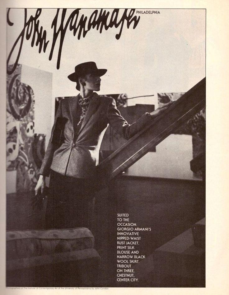 1979 John Wanamaker Wanamaker's Department Store Philadelphia VTG Print Ad 70s | eBay